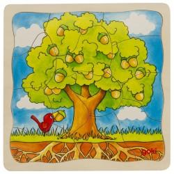 A fa fejlődése kirakó