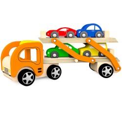 Autótréler (4 autóval)